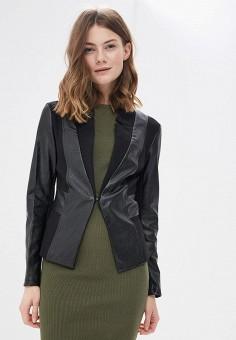 Куртка, Rinascimento, цвет: черный. Артикул: RI005EWAWMI5. Одежда / Верхняя одежда / Легкие куртки и ветровки