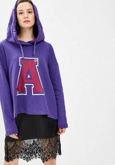 Худи, Rinascimento, цвет: фиолетовый. Артикул: RI005EWCCFA0. Одежда / Толстовки и свитшоты