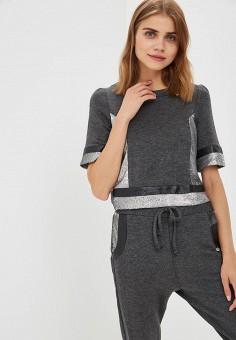 Свитшот, Rinascimento, цвет: серый. Артикул: RI005EWCCFK2. Одежда / Толстовки и свитшоты