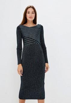 Платье, Rinascimento, цвет: серый. Артикул: RI005EWCCGI2. Одежда / Платья и сарафаны