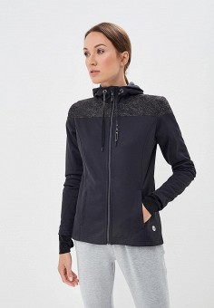 Куртка спортивная, Roxy, цвет  черный. Артикул  RO165EWCFID7. Одежда    Верхняя 92eef42ff9b
