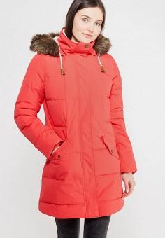 Парка, Roxy, цвет: красный. Артикул: RO165EWVOH35. Одежда / Верхняя одежда / Парки