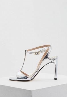 Босоножки, Roberto Botticelli, цвет: серебряный. Артикул: RO233AWZWZ00. Premium / Обувь / Босоножки