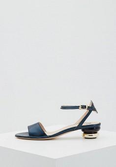 Босоножки, Roberto Botticelli, цвет: синий. Артикул: RO233AWZWZ04. Premium / Обувь / Босоножки