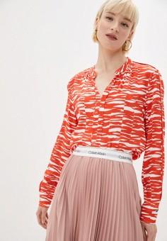 Блуза Calvin Klein K20K202730, цвет оранжевый