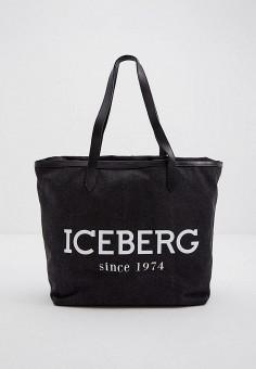 Сумка Iceberg P2P72086904, цвет серый