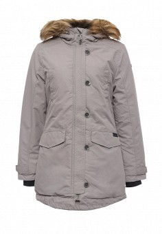 Парка, Rukka, цвет: серый. Артикул: RU006EWNBV32. Одежда / Верхняя одежда
