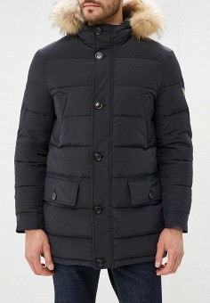 Пуховик, Savage, цвет: черный. Артикул: SA004EMCNDN3. Одежда / Верхняя одежда / Пуховики и зимние куртки