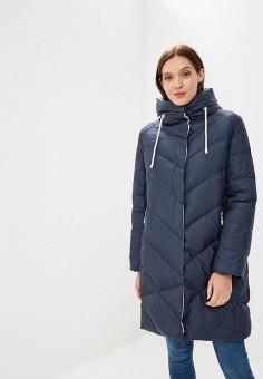 Пуховик, Savage, цвет: синий. Артикул: SA004EWCMVB3. Одежда / Верхняя одежда / Зимние куртки