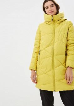 Пуховик, Savage, цвет: желтый. Артикул: SA004EWCMVB5. Одежда / Верхняя одежда