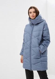 Пуховик, Savage, цвет: синий. Артикул: SA004EWCMVB6. Одежда / Верхняя одежда / Зимние куртки