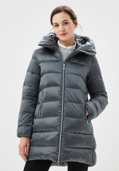 Пуховик, Savage, цвет: серый. Артикул: SA004EWCMVB8. Одежда / Верхняя одежда / Зимние куртки