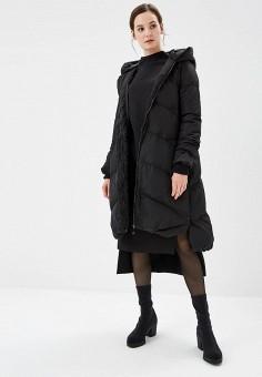 Пуховик, Savage, цвет: черный. Артикул: SA004EWCMVC8. Одежда / Верхняя одежда