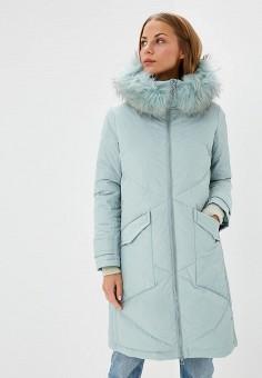 Пуховик, Savage, цвет: бирюзовый. Артикул: SA004EWCMVC9. Одежда / Верхняя одежда / Зимние куртки