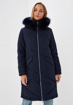 Пуховик, Savage, цвет: синий. Артикул: SA004EWCMVD0. Одежда / Верхняя одежда / Зимние куртки