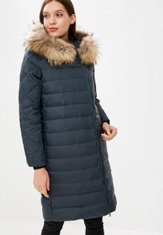 Пуховик, Savage, цвет: зеленый. Артикул: SA004EWCMXX5. Одежда / Верхняя одежда / Зимние куртки