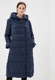 Пуховик, Savage, цвет: синий. Артикул: SA004EWCMXY4. Одежда / Верхняя одежда / Зимние куртки