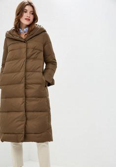 Куртка утепленная, Savage, цвет: коричневый. Артикул: SA004EWCMXY5. Одежда / Верхняя одежда / Зимние куртки