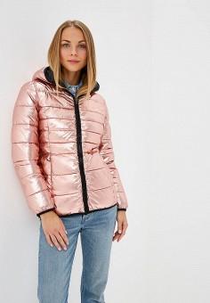 Куртка утепленная, Savage, цвет: розовый. Артикул: SA004EWCMXZ6. Одежда / Верхняя одежда / Зимние куртки