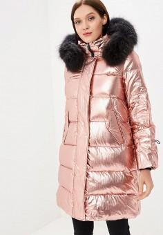 Пуховик, Savage, цвет: розовый. Артикул: SA004EWCMXZ8. Одежда / Верхняя одежда / Зимние куртки