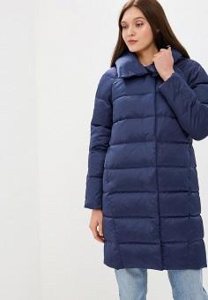 Пуховик, Savage, цвет: синий. Артикул: SA004EWCMYA3. Одежда / Верхняя одежда / Зимние куртки
