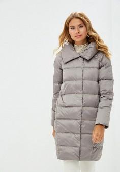 Пуховик, Savage, цвет: серый. Артикул: SA004EWCMYA4. Одежда / Верхняя одежда / Зимние куртки