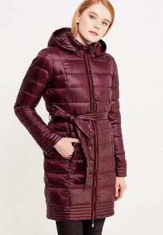 Пуховик, Savage, цвет: бордовый. Артикул: SA004EWVJW34. Одежда / Верхняя одежда / Зимние куртки