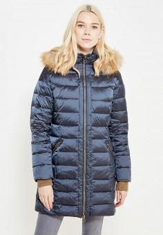 Пуховик, Savage, цвет: синий. Артикул: SA004EWVJW43. Одежда / Верхняя одежда / Зимние куртки
