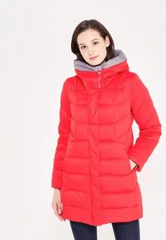 Пуховик, Savage, цвет: красный. Артикул: SA004EWVJW60. Одежда / Верхняя одежда / Зимние куртки