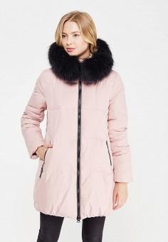Пуховик, Savage, цвет: розовый. Артикул: SA004EWVJW71. Одежда / Верхняя одежда
