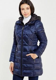 Пуховик, Savage, цвет: синий. Артикул: SA004EWVJW90. Одежда / Верхняя одежда / Зимние куртки