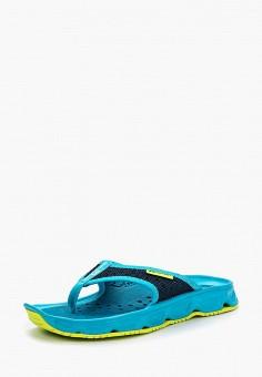 Сланцы, Salomon, цвет: синий. Артикул: SA007AWZOT46.