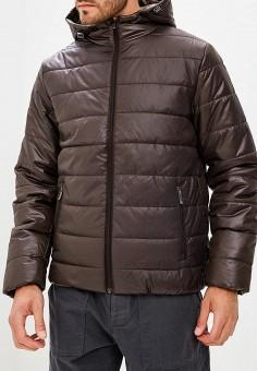Куртка утепленная, Sela, цвет: коричневый. Артикул: SE001EMBXBA2. Одежда / Верхняя одежда / Демисезонные куртки