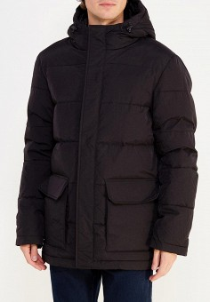 Пуховик, Sela, цвет: черный. Артикул: SE001EMUSB43. Одежда / Верхняя одежда / Пуховики и зимние куртки