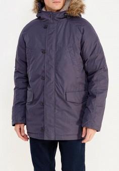 Пуховик, Sela, цвет: синий. Артикул: SE001EMUSB44. Одежда / Верхняя одежда / Пуховики и зимние куртки