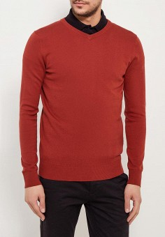 Пуловер, Sela, цвет: бордовый. Артикул: SE001EMZNG85. Одежда / Джемперы, свитеры и кардиганы