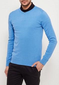 Пуловер, Sela, цвет: голубой. Артикул: SE001EMZNG86. Одежда / Джемперы, свитеры и кардиганы