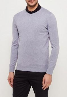 Пуловер, Sela, цвет: серый. Артикул: SE001EMZNG87. Одежда / Джемперы, свитеры и кардиганы