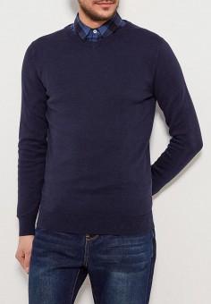 Пуловер, Sela, цвет: синий. Артикул: SE001EMZNG88. Одежда / Джемперы, свитеры и кардиганы