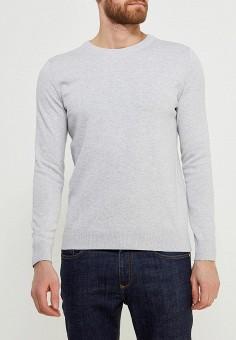 Джемпер, Sela, цвет: серый. Артикул: SE001EMZNG94. Одежда / Джемперы, свитеры и кардиганы