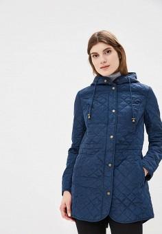 Куртка утепленная, Sela, цвет: синий. Артикул: SE001EWBXCJ0. Одежда / Верхняя одежда / Демисезонные куртки