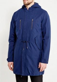 Парка, Selected Homme, цвет: синий. Артикул: SE392EMAFUJ7. Одежда / Верхняя одежда / Парки