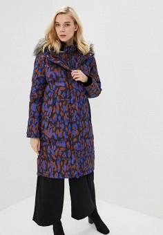 Пуховик, Selected Femme, цвет: мультиколор. Артикул: SE781EWBRHC3. Одежда / Верхняя одежда / Зимние куртки