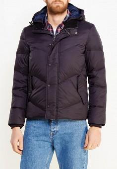 Пуховик, Sisley, цвет: черный. Артикул: SI007EMWTU77. Одежда / Верхняя одежда / Пуховики и зимние куртки