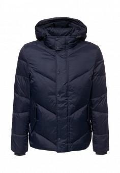 Пуховик, Sisley, цвет: синий. Артикул: SI007EMWTU78. Мужская одежда / Верхняя одежда / Пуховики и зимние куртки