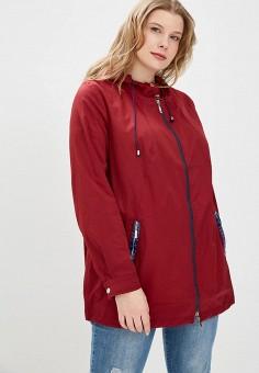 Ветровка, Silver String, цвет: бордовый. Артикул: SI021EWAWIN2. Одежда / Верхняя одежда / Легкие куртки и ветровки