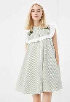 Платье, Sister Jane, цвет: зеленый. Артикул: SI030EWBPGJ2. Одежда / Платья и сарафаны