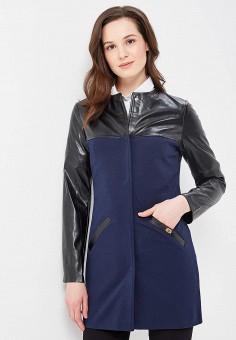 Пальто, SK House, цвет: синий. Артикул: SK007EWATEA9. Одежда / Верхняя одежда / Пальто