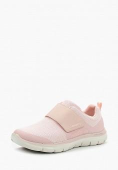 Кроссовки, Skechers, цвет: розовый. Артикул: SK261AWAUEX9. Обувь