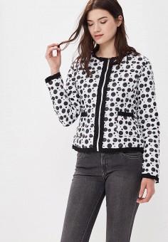 Куртка утепленная, Softy, цвет: мультиколор. Артикул: SO017EWAVXR1. Одежда / Верхняя одежда / Демисезонные куртки